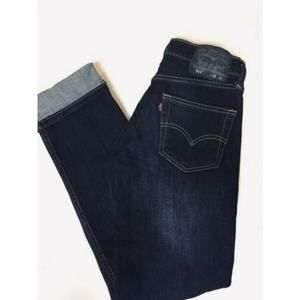 Levis 511 Slim Straight Jeans Dark blue 28x32